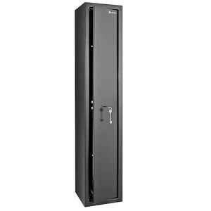 ZOKOP H1300 x W250 x D250 mm Can Hold 3 Rifles Blade Lock Gun Cabinet / Safe Safe-Black