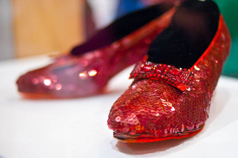 Swarovski and Dorothy's Red Slippers
