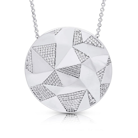 Silverissimo Collection Necklace Kaleidoscope