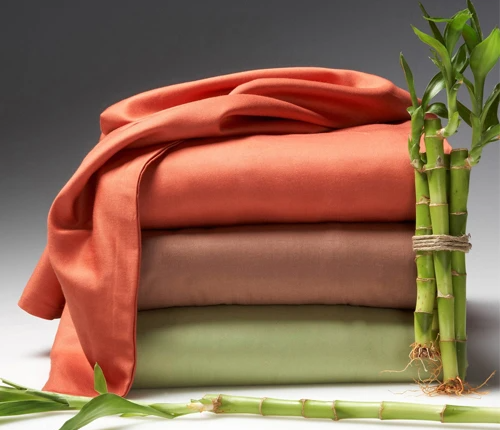 Bamboo quilted fabric