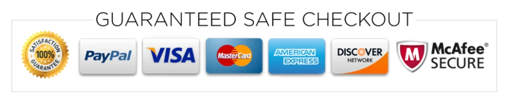 Trust Banner with approved credit cards