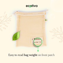 Load image into Gallery viewer, Organic Cotton Produce Bags