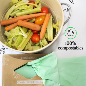 Compostable Trash Bags (13 Gallon) 50 pack