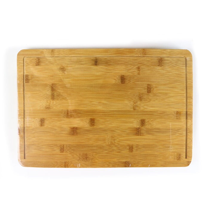 Bamboo Cutting Board with Storage Containers
