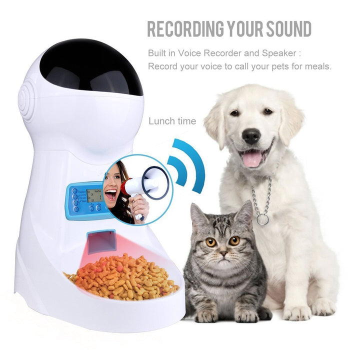 Automatic Pet Feeder (with WiFi & Camera)