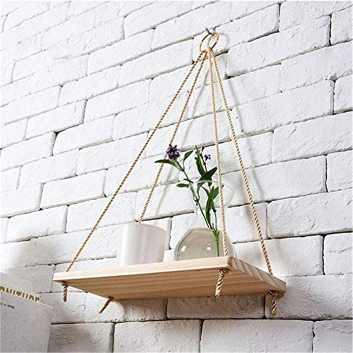 Floating Shelf Plant Flower Pot