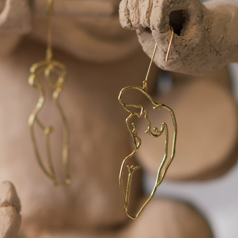 Body Drop Earrings