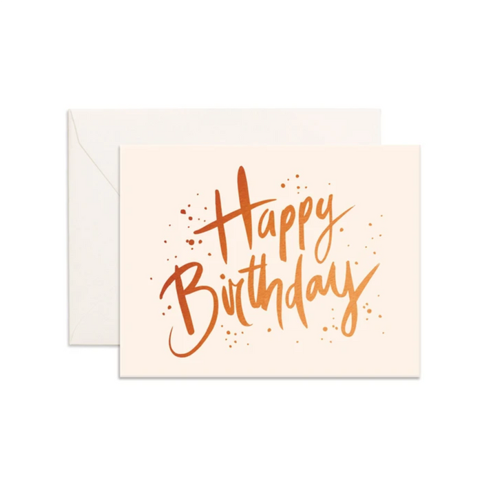Happy Birthday | Greeting Card
