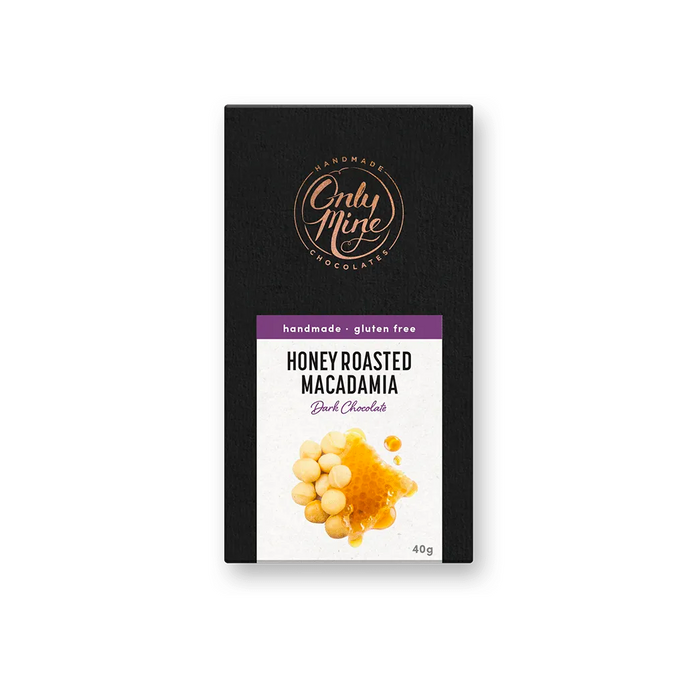 Chocolate Bar | Honey Roasted Macadamia
