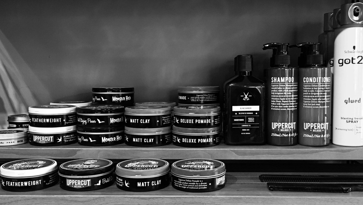The Brotique Guide To Men S Hair Style Products