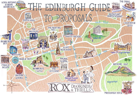 The Brotique in Rox Guide to Proposing in Edinburgh | Mens Independent Store Edinburgh