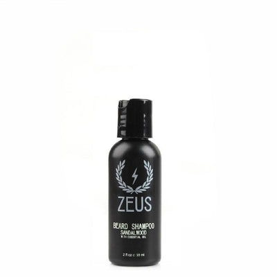 Zeus Beard, Zeus Travel Shampoo 2oz - The Brotique with Free UK Shipping for Mens Beard Care, Mens Shaving and Mens Gifts