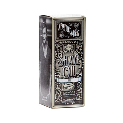 Apothecary87, Apothecary87 1893 Shave Oil - The Brotique with Free UK Shipping for Mens Beard Care, Mens Shaving and Mens Gifts