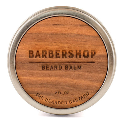 The Bearded Bastard, The Bearded Bastard Barbershop Beard Balm - The Brotique with Free UK Shipping for Mens Beard Care, Mens Shaving and Mens Gifts