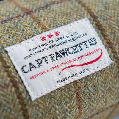 Captain Fawcett Limited, Captain Fawcett Wash Bag - The Brotique with Free UK Shipping for Mens Beard Care, Mens Shaving and Mens Gifts