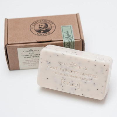 Captain Fawcett Limited, Captain Fawcett Gentleman's Soap CF.23 - The Brotique with Free UK Shipping for Mens Style, Mens Gifts & Mens Accessories - Experts in Mens Grooming