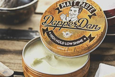 Dapper Dan, Dapper Dan Matt Paste - The Brotique with Free UK Shipping for Mens Beard Care, Mens Shaving and Mens Gifts