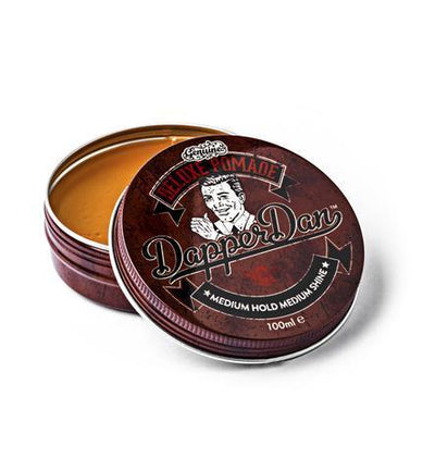 Dapper Dan, Dapper Dan Deluxe Pomade - The Brotique with Free UK Shipping for Mens Beard Care, Mens Shaving and Mens Gifts