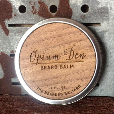 The Bearded Bastard, The Bearded Bastard Opium Beard Balm - The Brotique with Free UK Shipping for Mens Beard Care, Mens Shaving and Mens Gifts