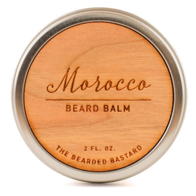 The Bearded Bastard, The Bearded Bastard Morocco Beard Balm - The Brotique with Free UK Shipping for Mens Beard Care, Mens Shaving and Mens Gifts