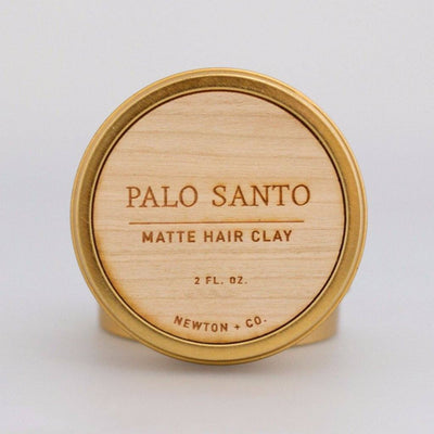 The Bearded Bastard, The Bearded Bastard Palo Santo Matte Hair Clay - The Brotique with Free UK Shipping for Mens Beard Care, Mens Shaving and Mens Gifts
