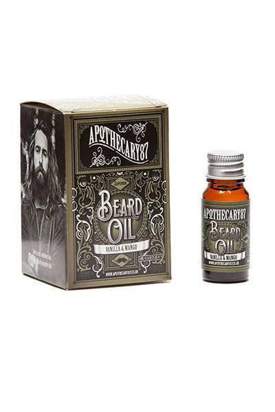 Apothecary87, Apothecary87 Vanilla & Mango Beard Oil - The Brotique with Free UK Shipping for Mens Beard Care, Mens Shaving and Mens Gifts