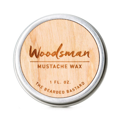 The Bearded Bastard, The Bearded Bastard Moustache Wax - The Brotique with Free UK Shipping for Mens Beard Care, Mens Shaving and Mens Gifts