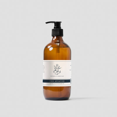 Hudson & Armitage, Hudson & Armitage The Aviator Beard Oil - The Brotique with Free UK Shipping for Mens Beard Care, Mens Shaving and Mens Gifts