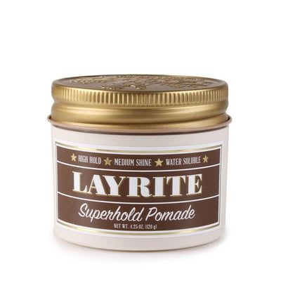 Layrite Super Hold Deluxe Pomade | 4.25 oz