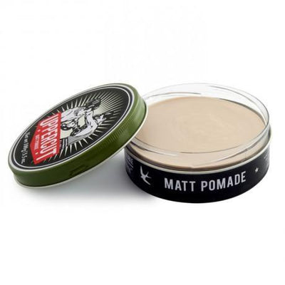 Uppercut Deluxe, Uppercut Deluxe Matt Pomade - The Brotique with Free UK Shipping for Mens Beard Care, Mens Shaving and Mens Gifts