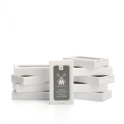 MÜHLE, K1 MÜHLE SAFETY RAZOR BLADES - The Brotique with Free UK Shipping for Mens Beard Care, Mens Shaving and Mens Gifts