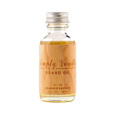 The Bearded Bastard, The Bearded Bastard Simply Vanilla Beard Oil - The Brotique with Free UK Shipping for Mens Beard Care, Mens Shaving and Mens Gifts