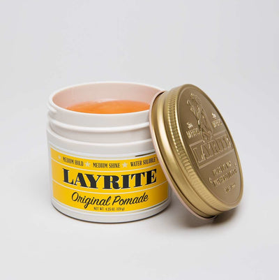 Layrite, Layrite Original Pomade 4.25oz - The Brotique with Free UK Shipping for Mens Style, Mens Gifts & Mens Accessories - Experts in Mens Grooming