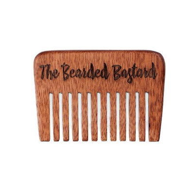 The Bearded Bastard, The Bearded Bastard Beard Comb - The Brotique with Free UK Shipping for Mens Beard Care, Mens Shaving and Mens Gifts