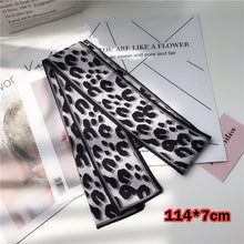 Load image into Gallery viewer, Silk Leopard Animal Print Neck Scarfs