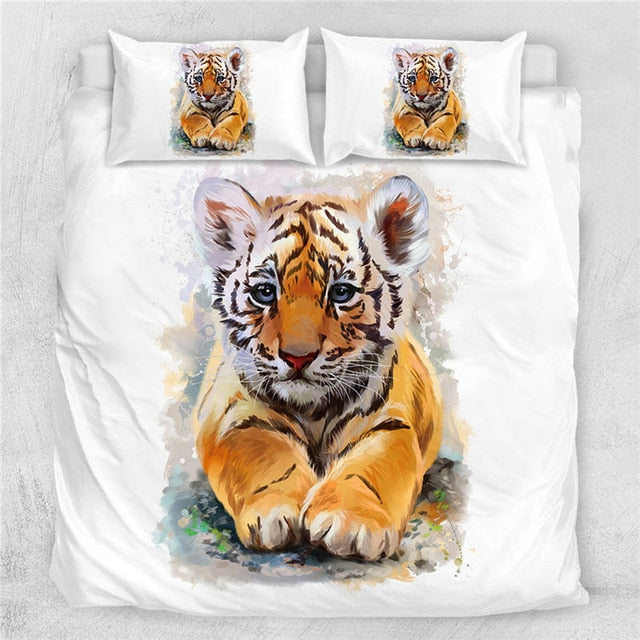 Big Cat Luxury Bedding Set