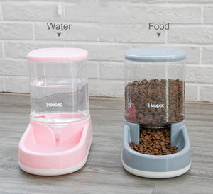 HOOPET Automatic Cat Feeder with Large Capacity Dispenser