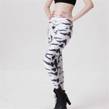 Load image into Gallery viewer, Unique White Tiger Leggings