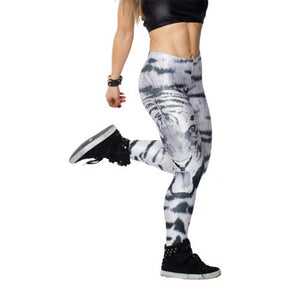 Unique White Tiger Leggings