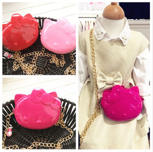 Hello Kitty Silicone Jelly Bag/Purse