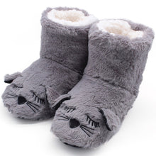 Load image into Gallery viewer, Super Cute Cat Slipper Boots.