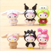 Load image into Gallery viewer, Hello Kitty Mini Action Figures 6pcs