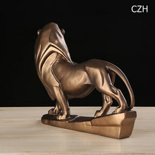 Load image into Gallery viewer, Vintage Territory Lion Sculpture
