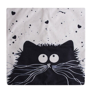 Splat the Cat themed Cushion Covers