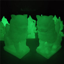 Load image into Gallery viewer, Glowing Chinese Lions Statues