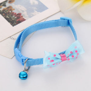Candy Color Adjustable Bow Tie Collar
