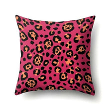 Load image into Gallery viewer, Leopard and Tiger Print Cushion Covers