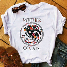 Load image into Gallery viewer, Cat Lovers Cool Graphic T-shirts