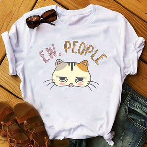 Cat Lovers Cool Graphic T-shirts
