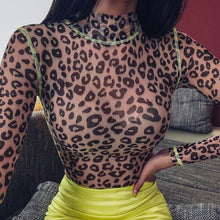 Load image into Gallery viewer, Animal Print Bodysuit